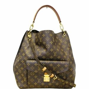 LOUIS VUITTON Hobo Monogram Canvas Shoulder Bag